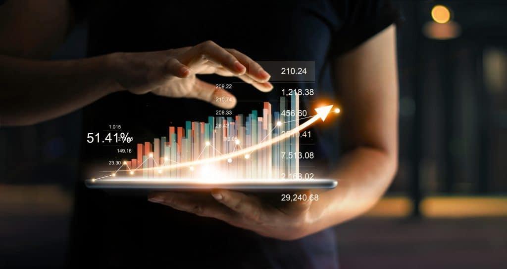 Growth statistics hologram