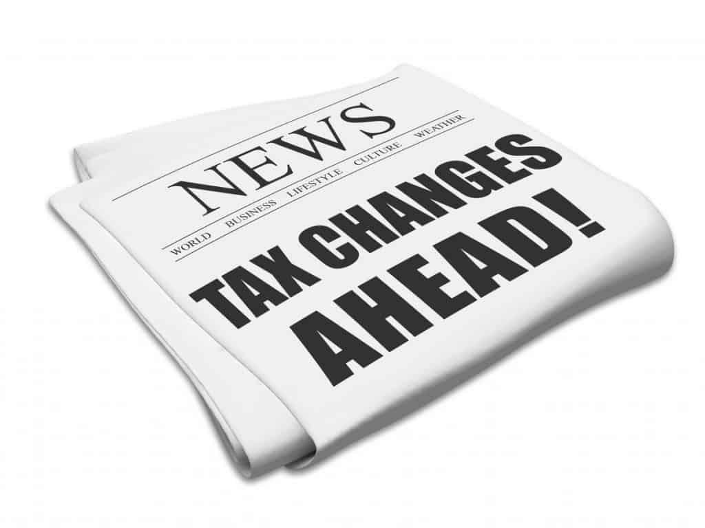 budget tax change
